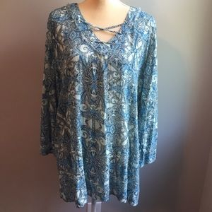New Directions tunic top size medium